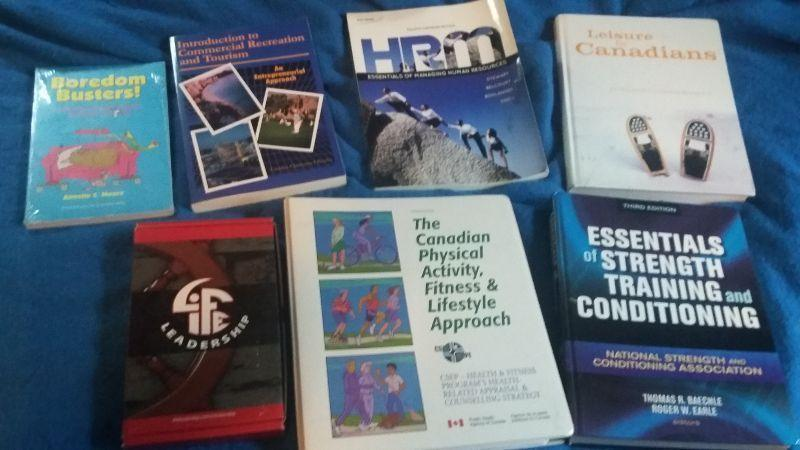 Sport & Leisure books for Holland College