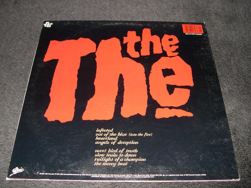 The The - Infected (1986) LP vinyl Post Punk Alt Rock Pop