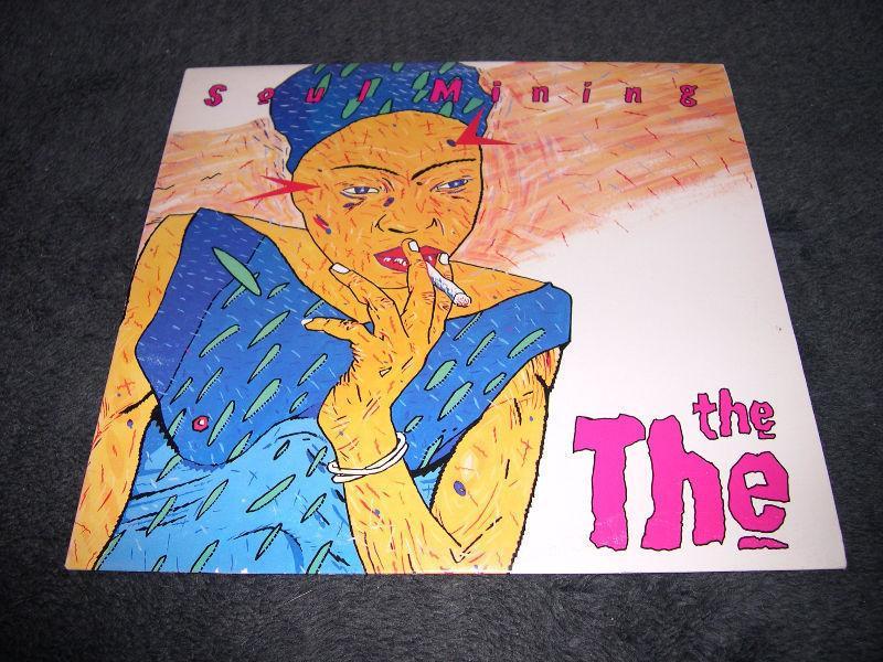 The The - Soul Mining (1983) lp vinyl Post-Punk Alt Rock Pop