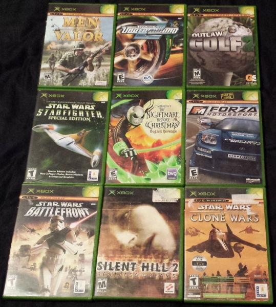 250+ jeux de Xbox et de Xbox 360