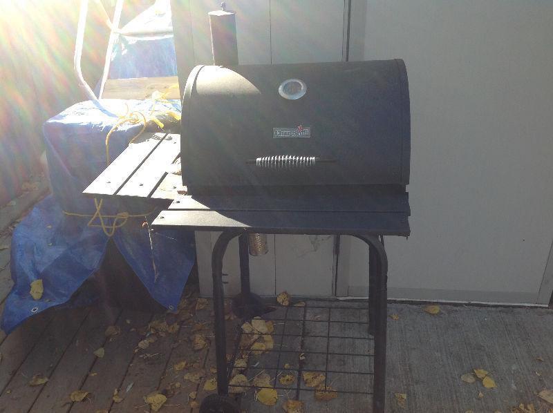 Charcoal BBQ/smoker