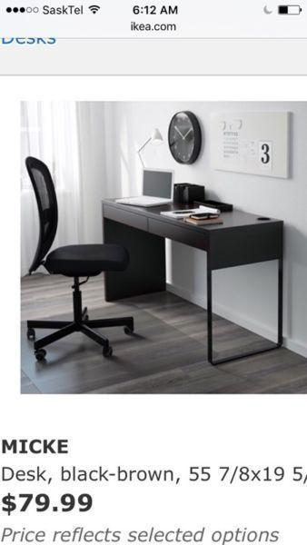 Mickie IKEA series Desk & file cabinet