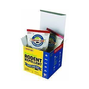 Fresh Cab Rodent Repellent (1 Box - 4 Pouch)