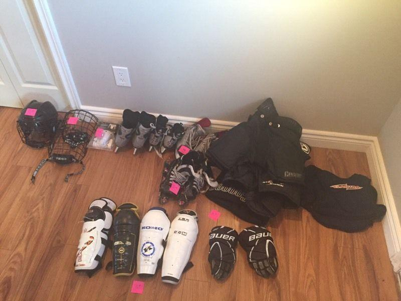 Initiation/novice hockey equipment