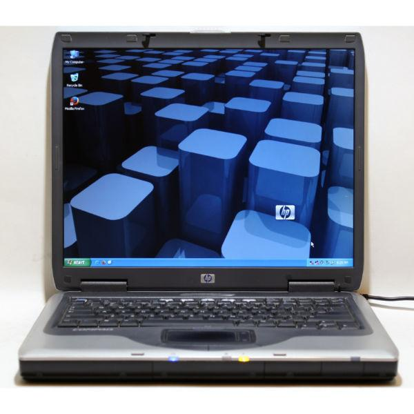 HP Compaq nx9005 Laptop AMD DVD/CDRW WiFi 768MB RAM 40GB HDD 15