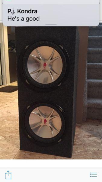 Subs for sale $150