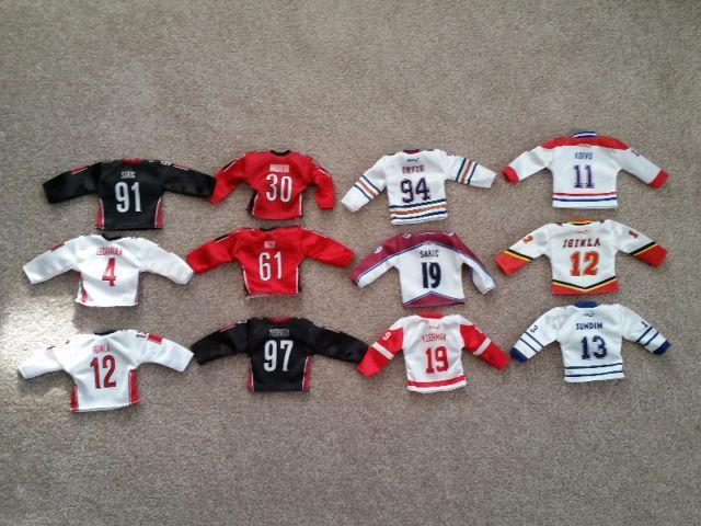 McDonalds Mini NHL/Team Canada Jerseys