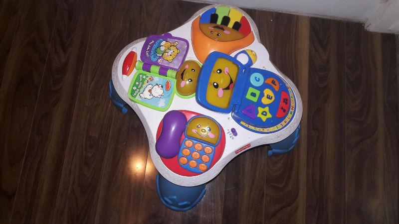 fisher price toy french and english