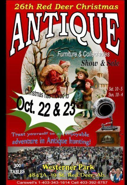 Antique show & Sale Red Deer
