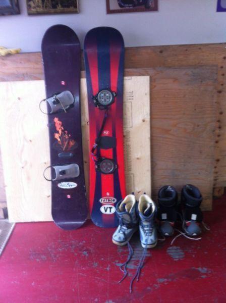 Burton and Nito boards