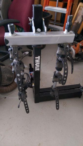 Thule swing away 4 bike rack