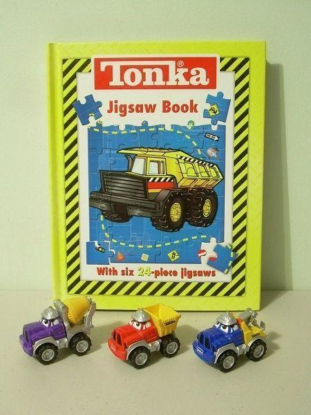 TONKA Jigsaw Book with Six 24 Piece Puzzles - NEW
