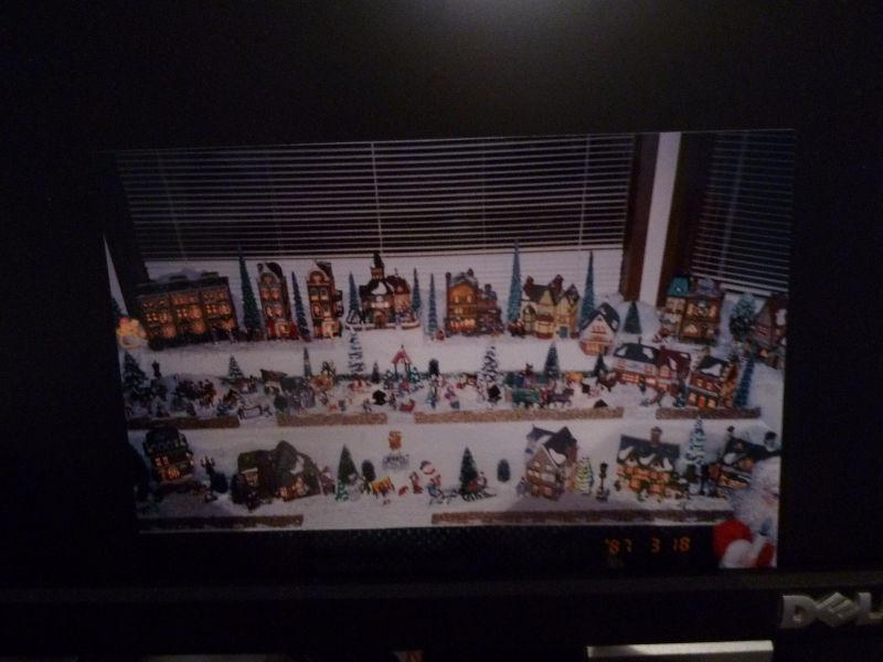 Christmas village for sale