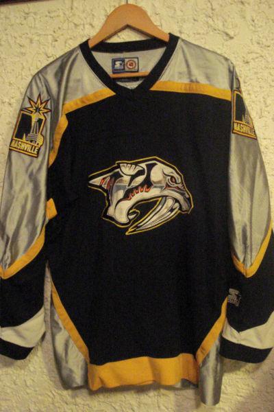 NHL Nashville Predators Jersey