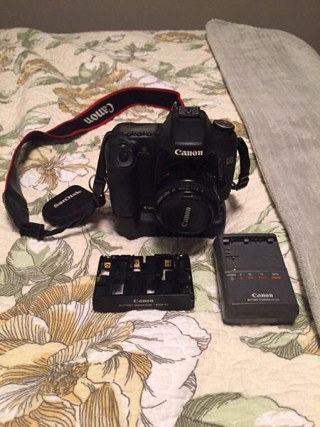 Canon 50D Body+ battery grip and accessories