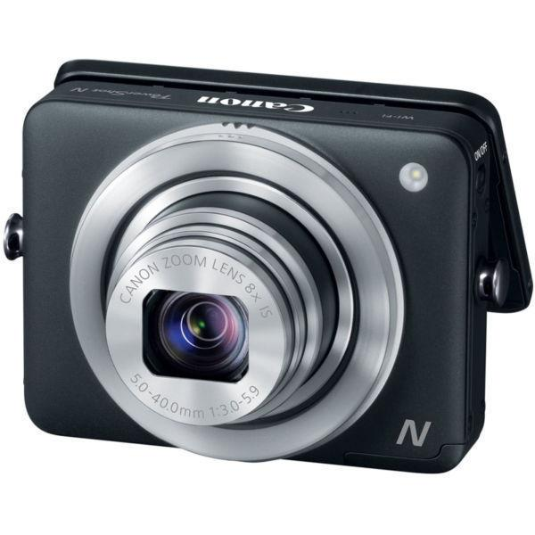 Ultraportable compact Canon Powershot N camera (DSLR style pics)