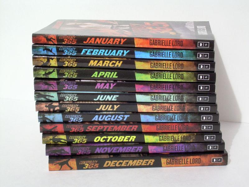 Conspiracy 365 - Complete 12 Novel Series - Scholastic