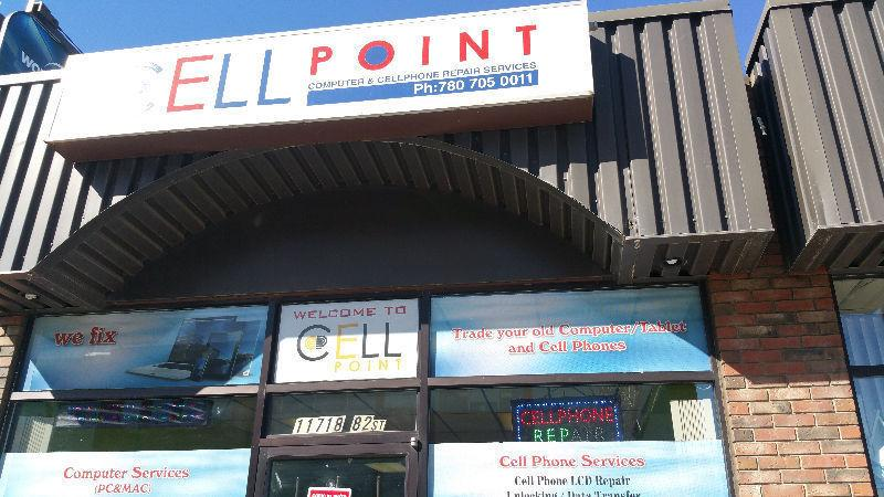 Repair/Buy Computers/Cell Phones/Tablet @ Cell Point